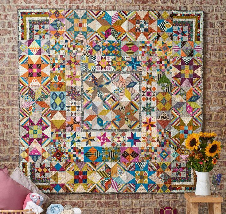 Baker's Dozen quilt by Jen Kingwell for Today's Quilter magazine