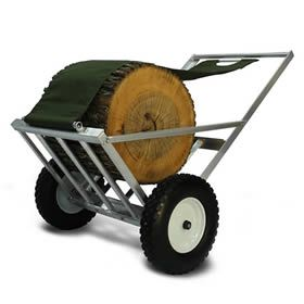 Fort Defiance Industries LMB-100 LOG-MULE� Log Cart at Log Splitters Direct includes a  factory-direct discount and a tax-free guarantee.