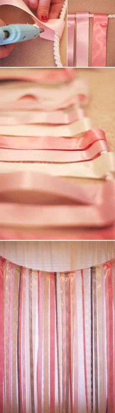 ¿Qué te parece esta idea que puedes hacer tú misma para la #decoración de tu #boda? #Wedding #Idea #DIY