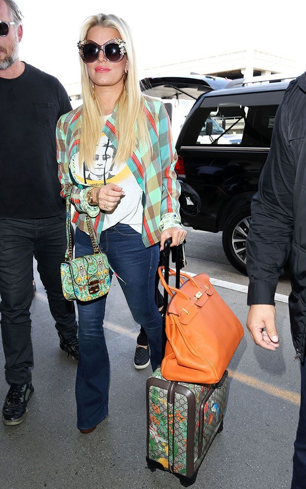 edaf270eda1f Celebs Amp Up the Sparkle and Flash with New Bags from Gucci