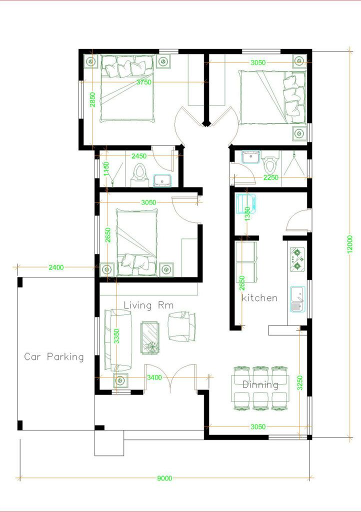 Small House Plan Ideas For Different Area Engineering Discoveries Small House Plan Model House Plan My House Plans