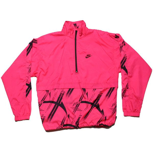 Tried & True Co. — VINTAGE NIKE PULLOVER WINDBREAKER ($45) ❤ liked on Polyvore featuring activewear, activewear jackets, jackets, tops, nike, shirts, nike activewear, vintage shirts, nike pullover and pullover shirt