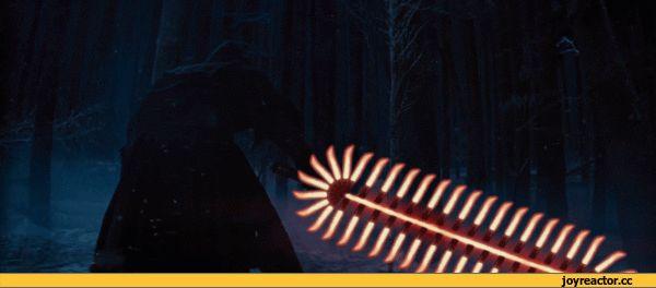 Звездные Войны,приколы star wars,фэндомы,гиф анимация,гифки - ПРИКОЛЬНЫЕ gif анимашки,Световой меч,chainsaw,The Force Awakens