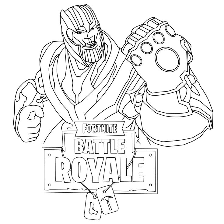 Fortnite Coloring Pages | Coloring pages for kids, Bear ...