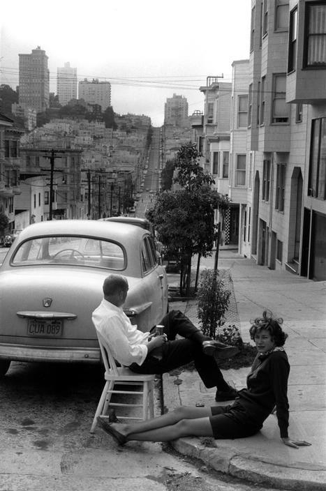 San Francisco, by Henri Cartier-Bresson, 1960