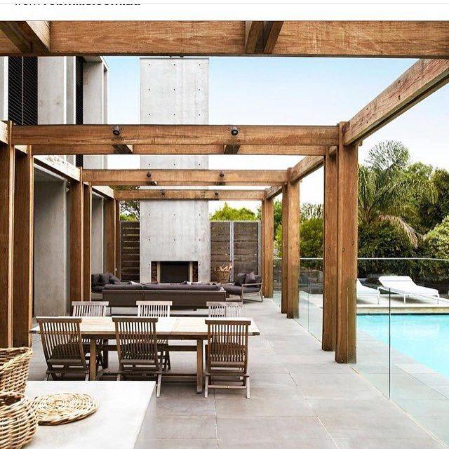 Spectacular beach house by @robmillsarchitects #ThePavilion14 #interiors #interiordesign #outdoorinspo