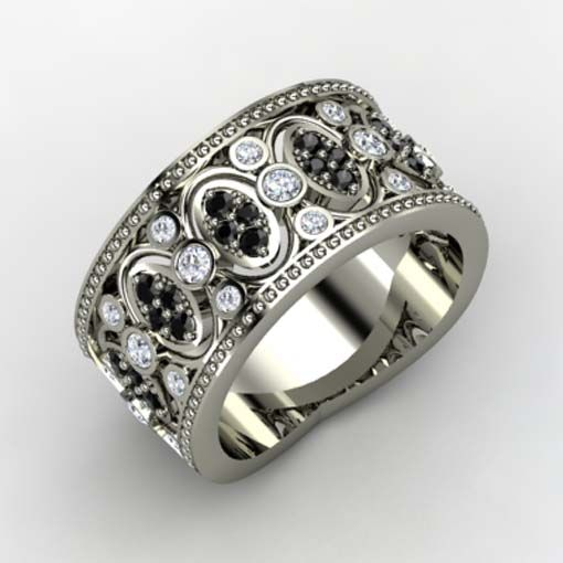 Gothic Wedding Bands | Behind the Gothic Wedding Rings