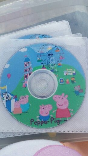 Peppa Pig party favour - I used as invitations rather than party favors.