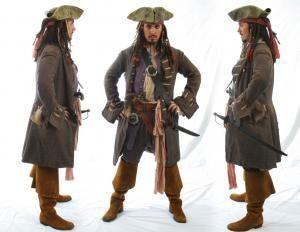 Делаем пиратский костюм