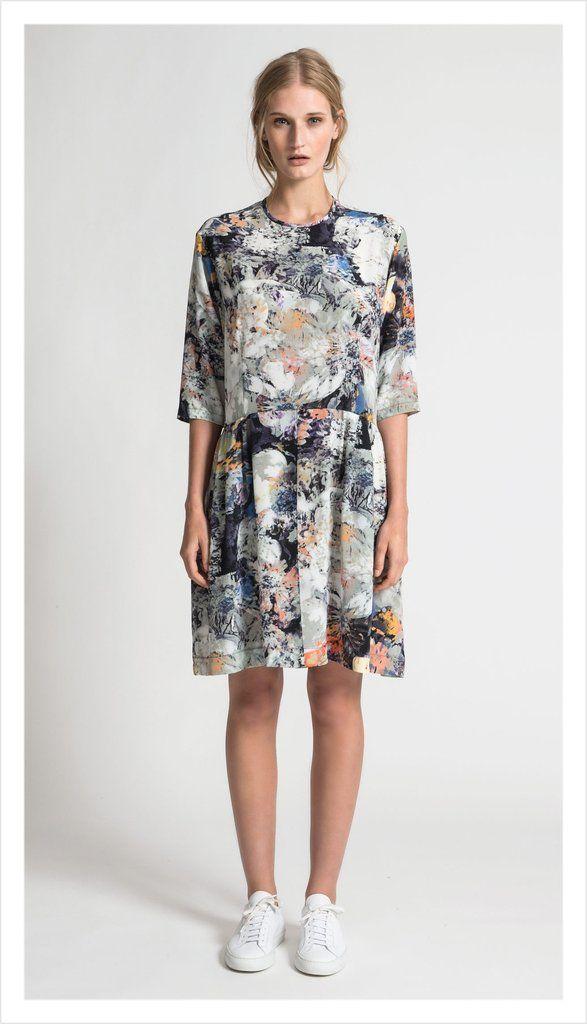 Juliette Hogan Peplum Tunic Dress