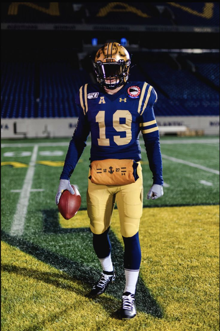Navy Midshipmen 2019 special uniforms for ArmyNavy Game