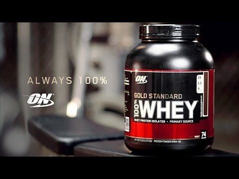 100% Gold Standard Whey - Motivation - YouTube