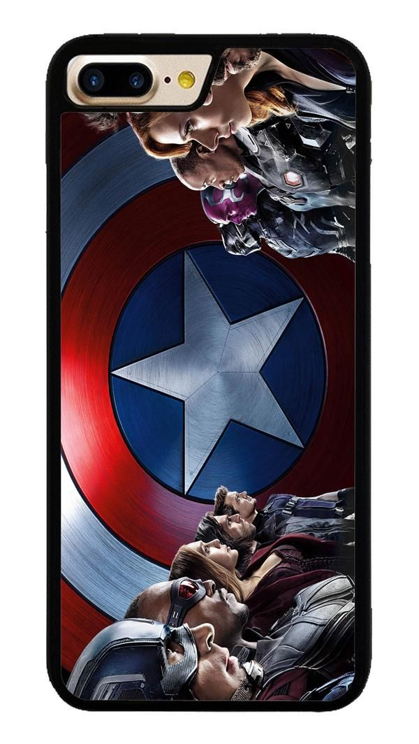 Captin America for iPhone 7 Plus Case #CaptainAmerica #ranger #avangers #Marvel #iphone7plus #covercase #phonecase #cases #favella