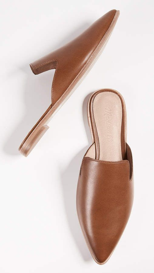 6611268a38d8 Madewell The Gemma Brown Mules