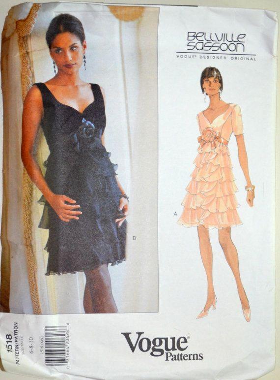 Uncut der 1990er Jahre Vogue Vintage von postandbeamvntg auf Etsy