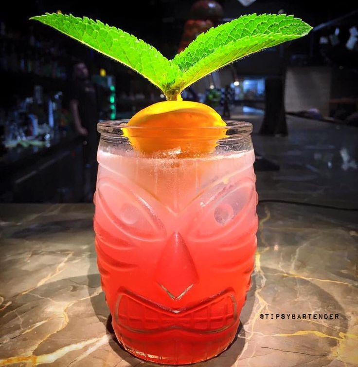 Angry Indian Cocktail - TipsyBartender.com