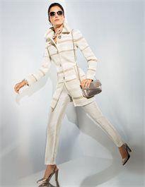 Damen Gehrock mit Matt-Glanz-Effekten #madeleinefashion