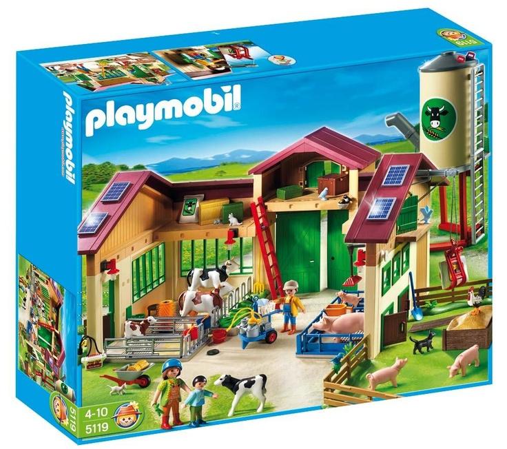 Playmobil Barn with Silo, Pixmania.com