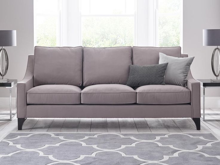 Isaac Sofa - The detailed piping and rich European fabrics make Isaac the perfect combination of style and comfort, pair with an Isaac armchair for a classical look - by www.livingitup.co.uk