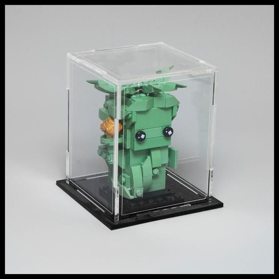 Brickheadz acrylic display case for 2