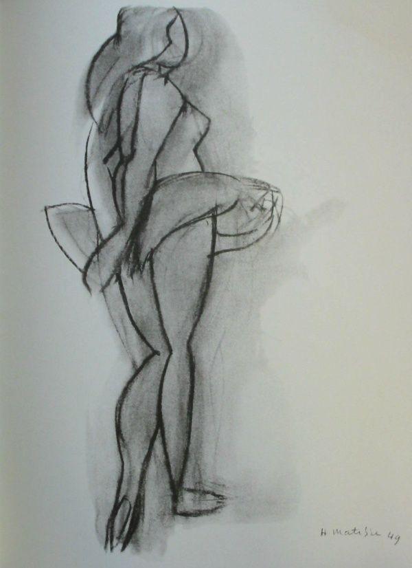 Henri Matisse - Fauvisme - La danseuse, 1949