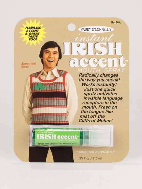 "Spray de Gura ""Accent Irlandez"""