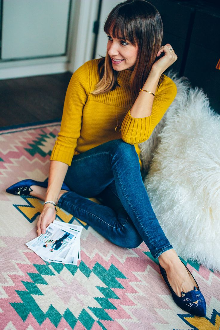 Yellow Sweater Outfit Ideas 83