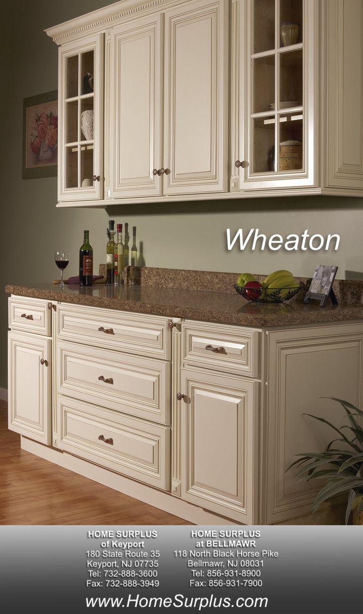 Kitchen cabinets surplus atlanta - Vanilla Bean Glaze Kitchen Cabinetry Sold At Innovations