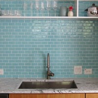 green idea: eco-friendly kitchen backsplashes | refresheddesigns.sustainable design