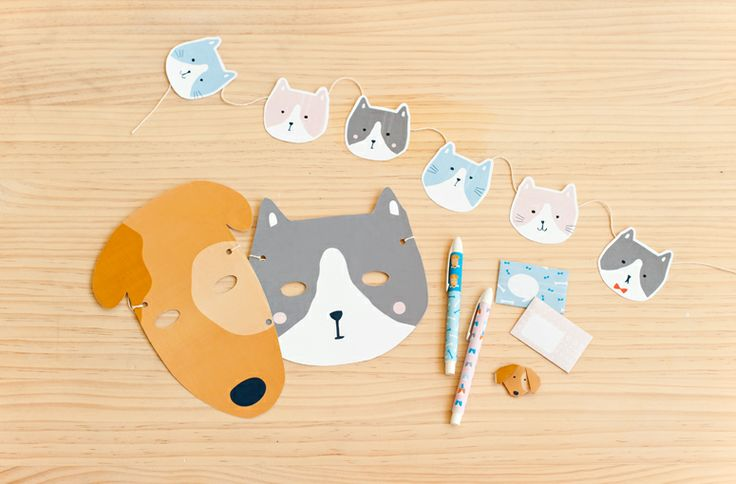 Download your Maja mask here. Simply print and cut out. Then hole punch two holes on either side and tie some Twine through the holes to make your mask. Done! From the gorgeous kikki.K Maja & Max Activity Book.