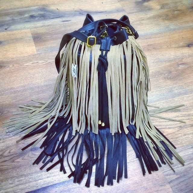 #next #mixed #camel #beige ##sewing #sack #leather #tassel #fringe #bag #belts #boho #handmade #handbag #black #bohemian #gypsy #suede #Indian #bucket #trend #totebag #designer #design #fashion #outfit #worek #torba #frędzle #szycie
