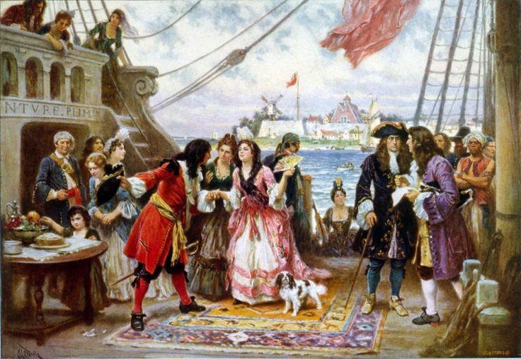 De legendes van Captain Kidd – Piraat