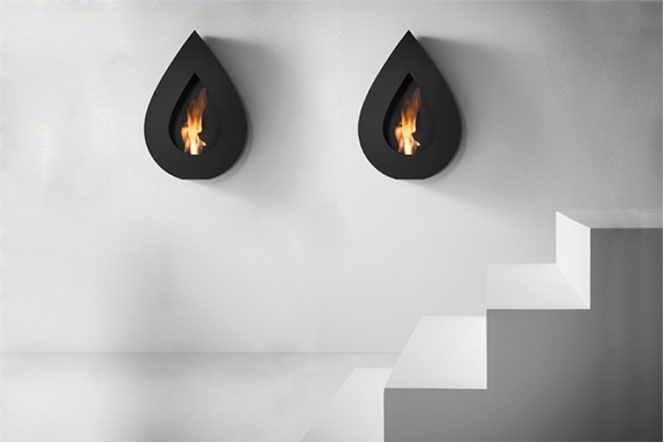 fire: Modern Fireplaces, Fireplaces Mantles, Fireplaces Design, Creative Fireplaces, Wall Fireplaces, Interiors Design, Black Teardrop, Teardrop Fireplaces, Fire Places