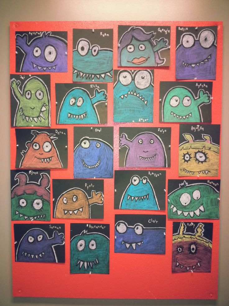 Wonky eyed monsters (a faithful attempt)