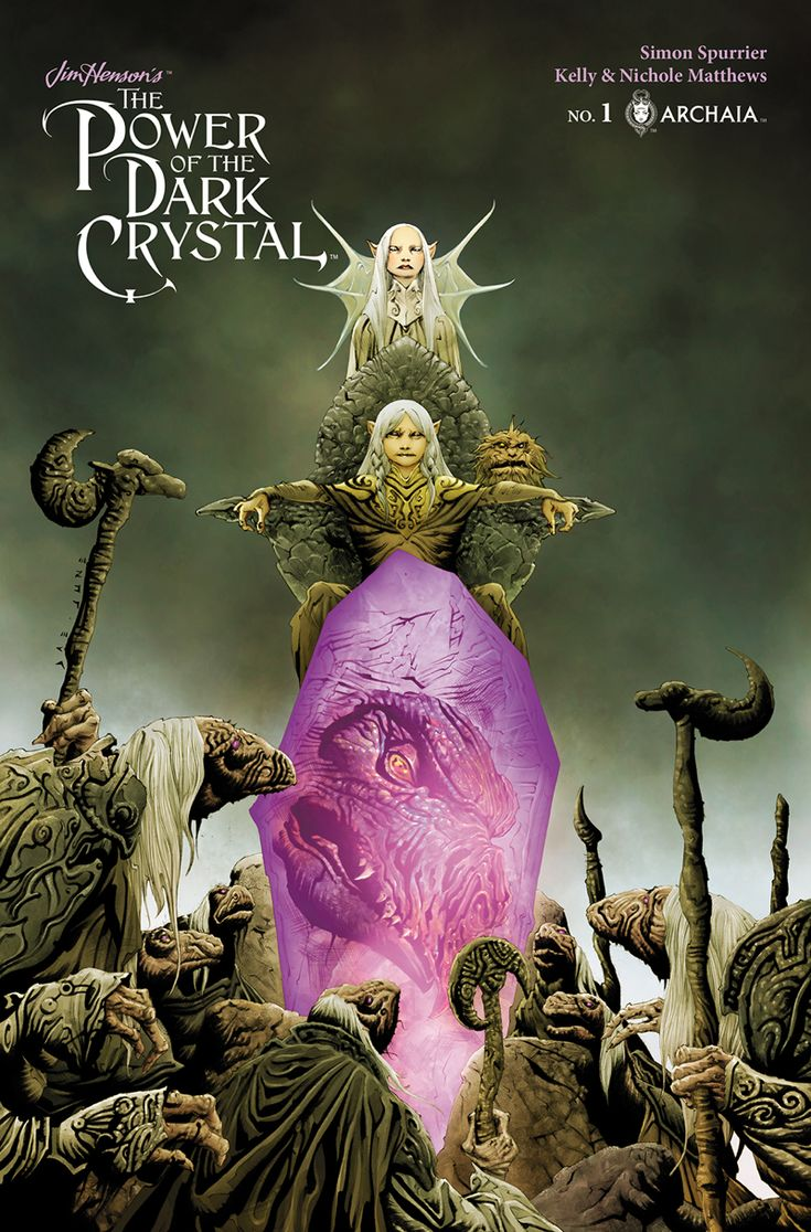 'The Power of the Dark Crystal' will be a 12-issue series from Boom! Studios and the Henson Company based on an unproduced screenplay following the 1982 fantasy movie.