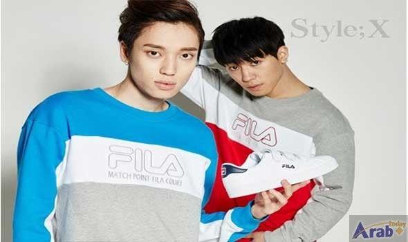 "FILA Korea Unveiled the ""FILA 2017 Back…"
