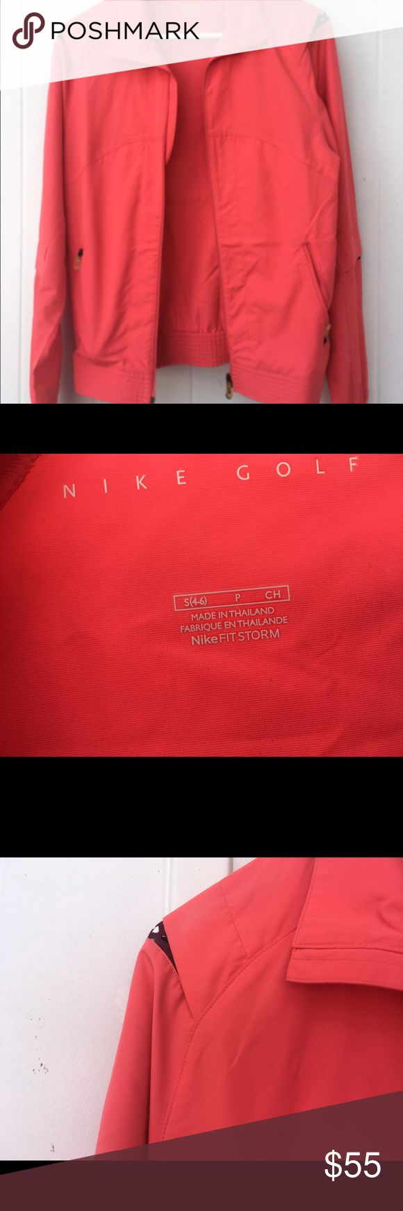 Woman's Nike Golf Jacket Woman's Nike golf jacket. In new condition. Worn only once. Size small. Waterproof Nike Jackets & Coats