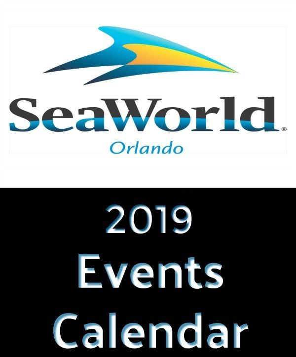 Florida Calendar Of Events 2019 2019 Seaworld Orlando Calendar Of Events | Family Fun in Orlando