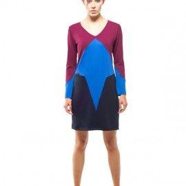 Larissa Dress (Blue)