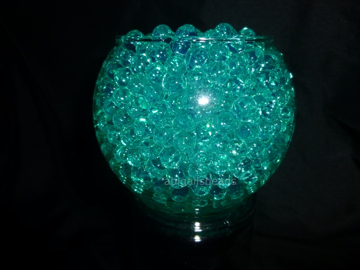 Quot Teal Water Beads Hydrated Absorbing Gel Magic Marble