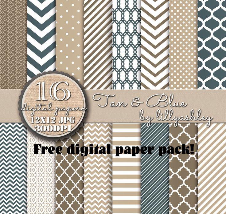 Free Digital Paper Pack