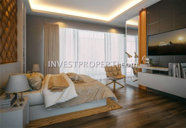 Contoh interior design master bedroom rumah cluster Agate Gading Serpong #gnagroup #agategadingserpong