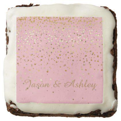 #wedding - #Brownie Veronica's Treats-Star Shower Custom Names