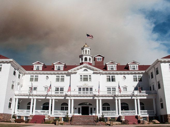 The Stanley Hotel, Estes Park, Colorado | The 14 Absolute Creepiest Places To Visit In The United States