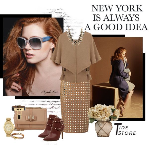 """""""New York Is Always A Good Idea"""" by agathalizz on Polyvore"""