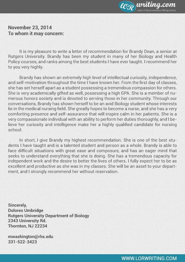Letter Of Recommendation For Residency Luxury Professional Medical