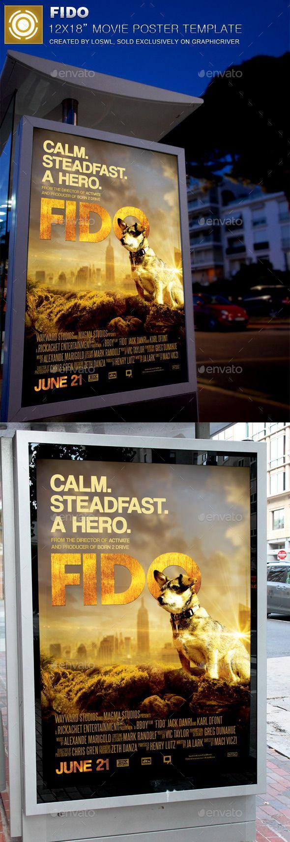 Fido Movie Poster Template