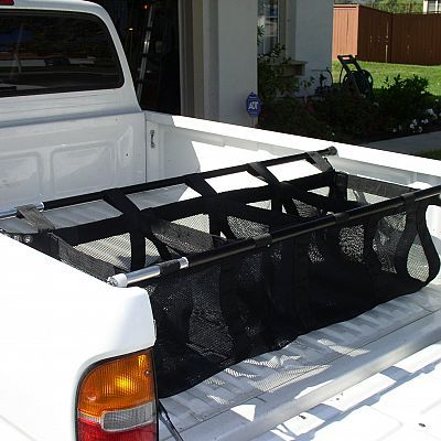 Cargo Catch pickup truck bed organizers by Graham Custom Truck Accessories, LLC More