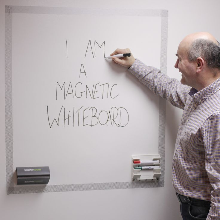 Magnetic Whiteboard Surface