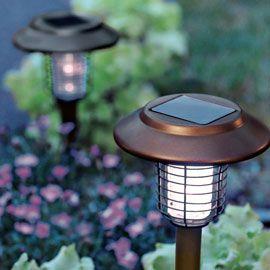solar light u0026 insect wacker solar garden stakes with uv bug light solutions